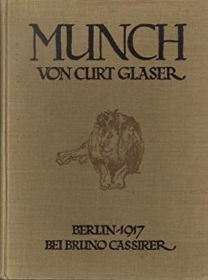 Munch. COPY DELUXE/FULL CLOTH.: Munch, Edvard - Glaser, Curt.