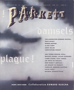 Parkett No 18, 1988. Kunstzeischrift/Art Magazine: Collaboration Edward Ruscha. FINE COPY.: ...