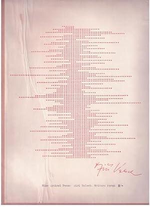 Nine Optical Poems. VERY FINE COPY.: Valoch, Jiri (Brno,