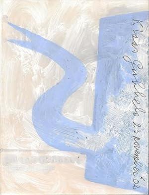 Klaas Gubbels. Werken op Papier. SIGNED.: Gubbels, Klaas - Hefting, Paul.