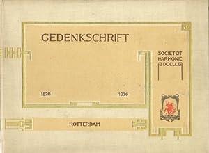 """Gedenkschrift van de Vereeniging Sociëteit (Societeit) """"Harmonie"""" (Doele) = Doelen, ..."""