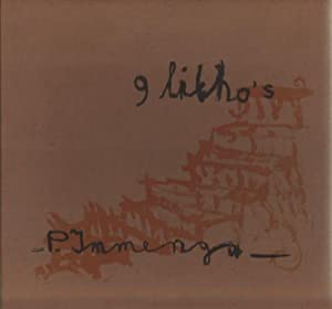 9 Litho's: P.D. Immenga. FINE COPY.: Immenga, Pieter D. (Groningen1955).
