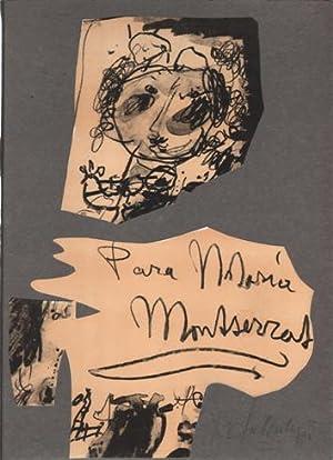 Litografias para Maria Montserrat. 5 litografias de Kees Salentijn.: Salentijn, Kees -