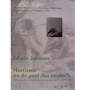 """Narcissus en de poel des verderfs"""".: Janssen, Edwin - Amstelveen, 1961."""