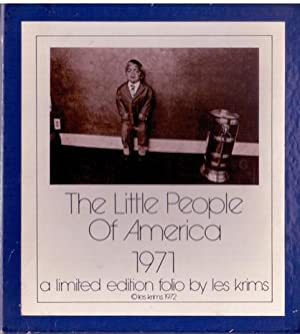 The Little People of America 1971. SIGNED.: Krims, Les -