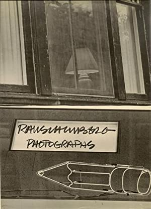 Rauschenberg. Photographs. VERY FINE COPY.: Rauschenberg, Robert - Pontus Hulten (introd.).