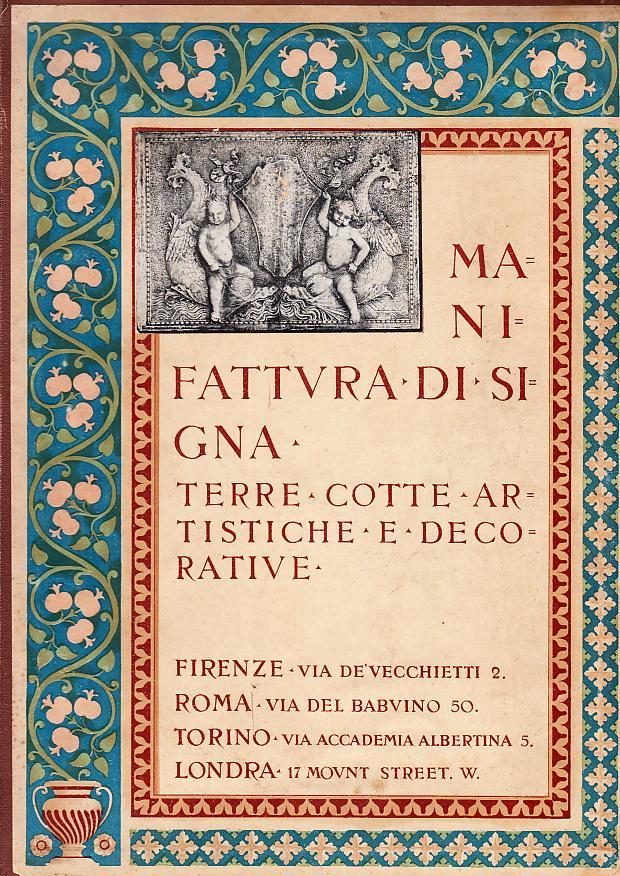 Manifattura di signa. Terre cotte artistiche e decorative. by ITÁLIA ...