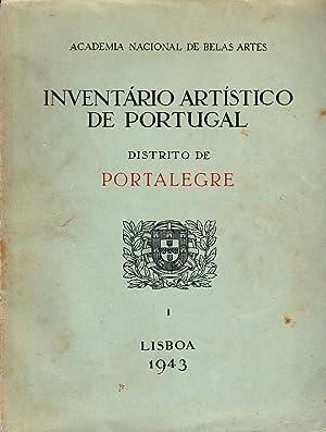 Inventário artístico de Portugal. Distrito de Portalegre.: KEIL, Luis, 1881-1947