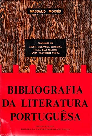 Bibliografia da literatura portuguêsa. Colaboração de Herti: MOISÉS, Massaud