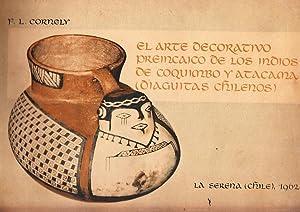 El Arte Decorativo Preincaico de los Indios: CORNELY, F.L.