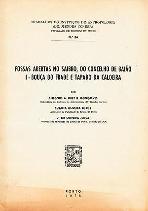Fossas Abertas no saibro, do concelho de: GONÇALVES, António A.