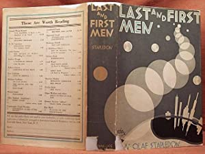 LAST AND FIRST MEN: A STORY OF: STAPLEDON, OLAF