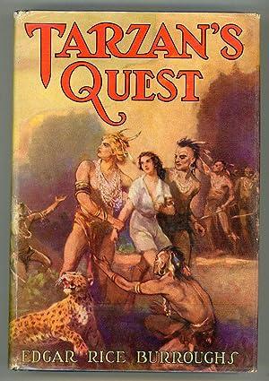 TARZAN'S QUEST .: Burroughs, Edgar Rice