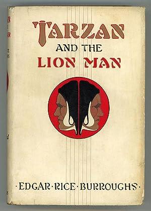 TARZAN AND THE LION MAN .: Burroughs, Edgar Rice