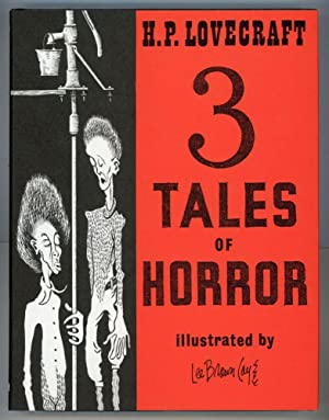 3 TALES OF HORROR .: Lovecraft, H[oward] P[hillips]