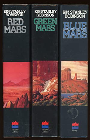 MARS TRILOGY] RED MARS, GREEN MARS [and]: Robinson, Kim Stanley