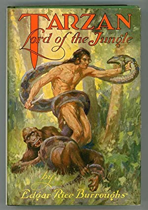 TARZAN LORD OF THE JUNGLE .: Burroughs, Edgar Rice