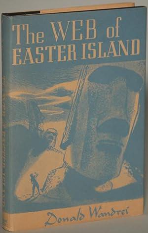 THE WEB OF EASTER ISLAND: Wandrei, Donald