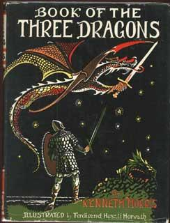 BOOK OF THREE DRAGONS .: Morris, Kenneth