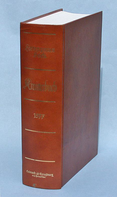 Kreutterbuch. [Kreütterbuch Kreuterbuch Kräuterbuch]: Bock, Hieronymus: