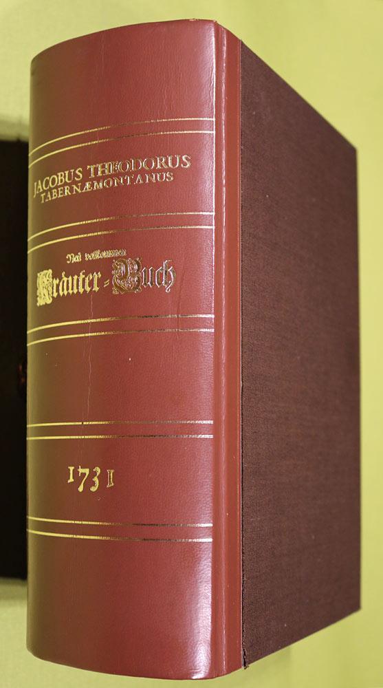 Neu Vollkommen Kräuter-Buch (Kräuterbuch).: Tabernaemontanus, Jacob Theodor