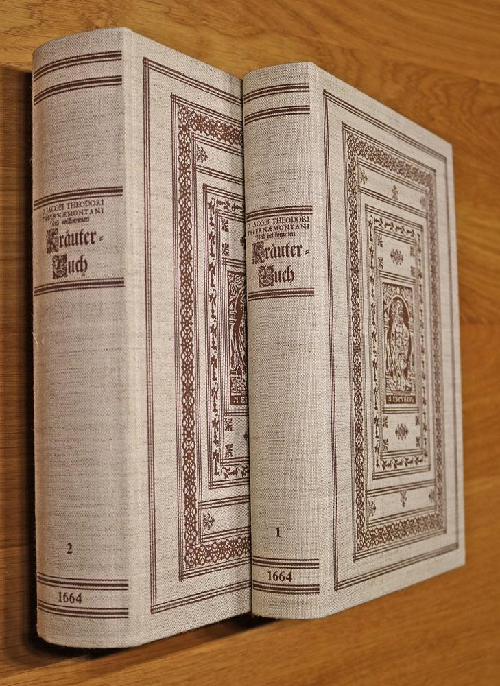Neu Vollkommen Kräuterbuch. 3 Bücher in 2: Tabernaemontanus, Jacob Theodor
