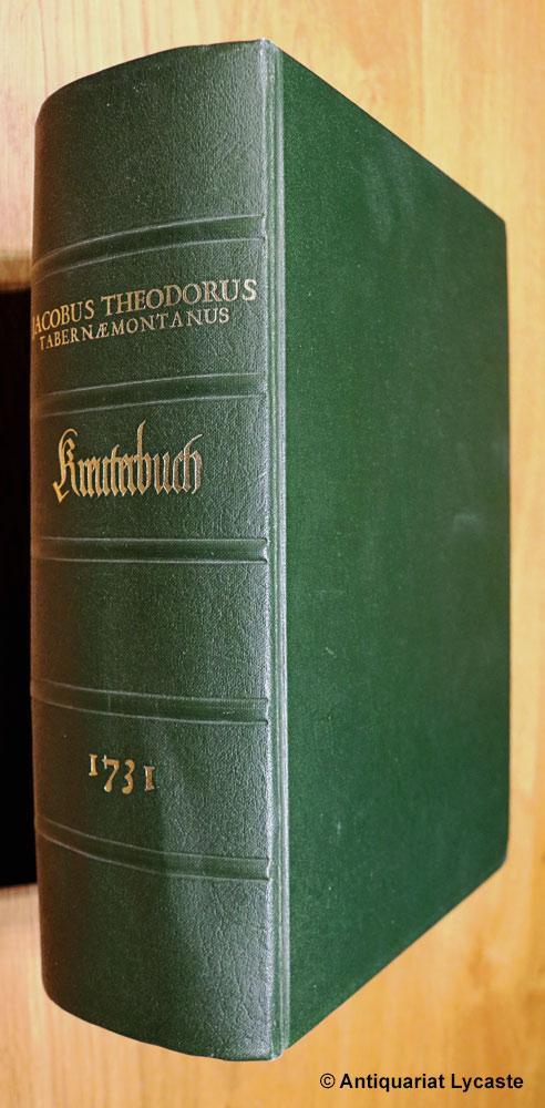 Neu Vollkommen Kräuterbuch.: Tabernaemontanus, Jacob Theodor