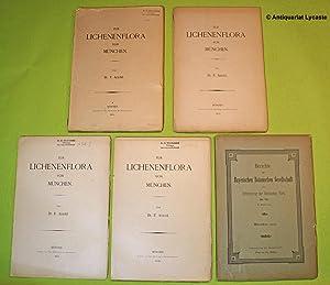 Zur Lichenenflora von München. Teile 1, 3, 4.: Arnold, Dr. F.: