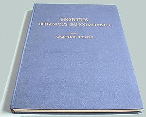 Hortus Botanicus Panormitanus. Tomus Primus et Secundus.: Todaro, Augustino: