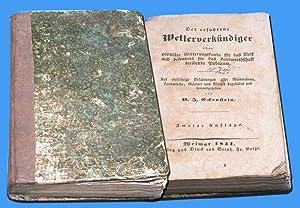 Der erfahrene Wetterverkündiger .: Eckenstein, D. J.: