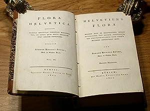 Helvetiens Flora - Flora Helvetica.: Suter, Johann Rudolf: