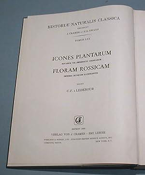 Icones Plantarum novarum vel imperfecte cognitarum Floram Rossicam, Imprimis Altaicam.: Ledebour, ...