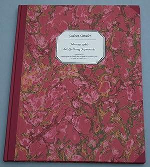 Monographie der Gattung Saponaria.: Simmler, Gudrun: