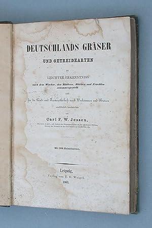 Deutschlands Gräser und Getreidearten: Jessen, Carl Friedrich Wilhelm: