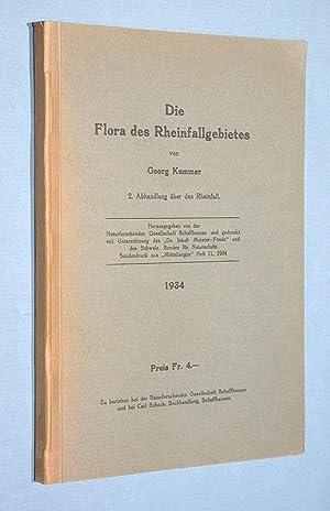 Die Flora des Rheinfallgebietes.: Kummer, Georg: