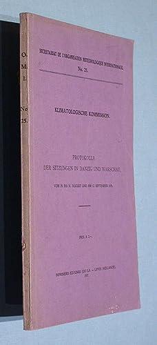 Protokolle der Sitzungen in Danzig und Warschau, vom 29. bis 31. August und am 12. September 1935.:...