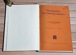 Monographie der Gattung Lathraea.: Heinricher, Emil: