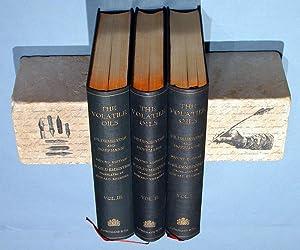 The Volatile Oils. Vol. 1 - 3. (Englische Ausgabe von Die ätherischen Öle): Gildemeister,...