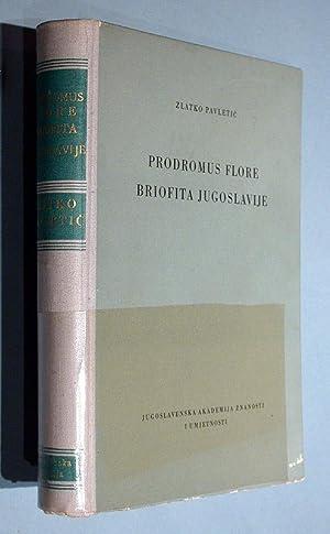 Prodromus Flore Briofita Jugoslavije.: Pavletic, Zlatko: