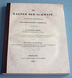 Die Kaefer der Schweiz. Mit besonderer Berücksichtigung ihrer geographischen Verbreitung.: ...