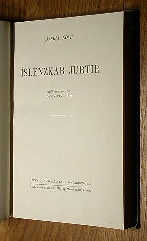 Islenzkar Jurtir.: Löve, Askell: