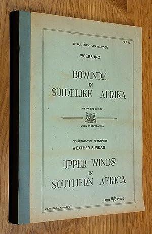 Bowinde in Suidelike Afrika / Upper Winds in Southern Africa.: Departement van Vervoer - ...