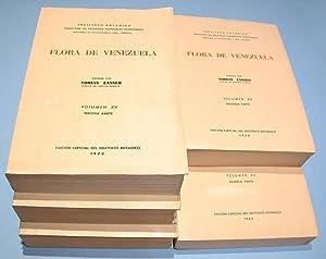 Orchidaceae (Flora de Venezuela, Vol. XV). 5 Parts.: Lasser, Tobias - Hrsg.) Foldats und Ernesto: