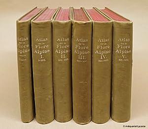 Atlas de la Flore Alpine.: Correvon, Henry: