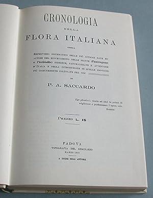 Cronologia della Flora Italiana.: Saccardo, P. A.: