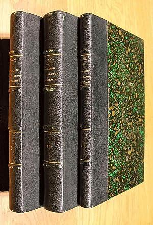 Monographia Cladoniarum Universalis. 3 volumes (complete).: Wainio (Vainio), Edvard August: