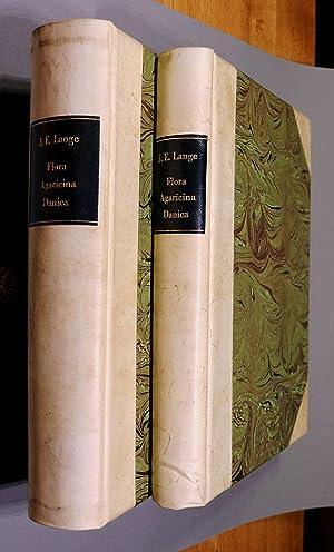Flora Agaricina Danica. 5 Bände gebunden in: Lange, Jakob E.: