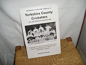 Yorkshire County Cricketers on old picture postcards: Jennings. Grenville: