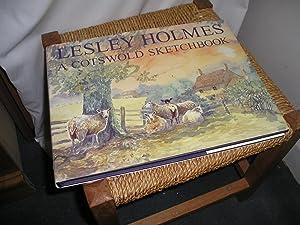 A Cotswold Sketchbook: Holmes. Lesley. Signed.:
