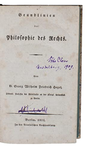 grundlinien der philosophie des rechts hegel georg wilhelm - Isaac Newton Lebenslauf